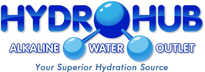 Hydrohub Alkaline Water Outlet Logo